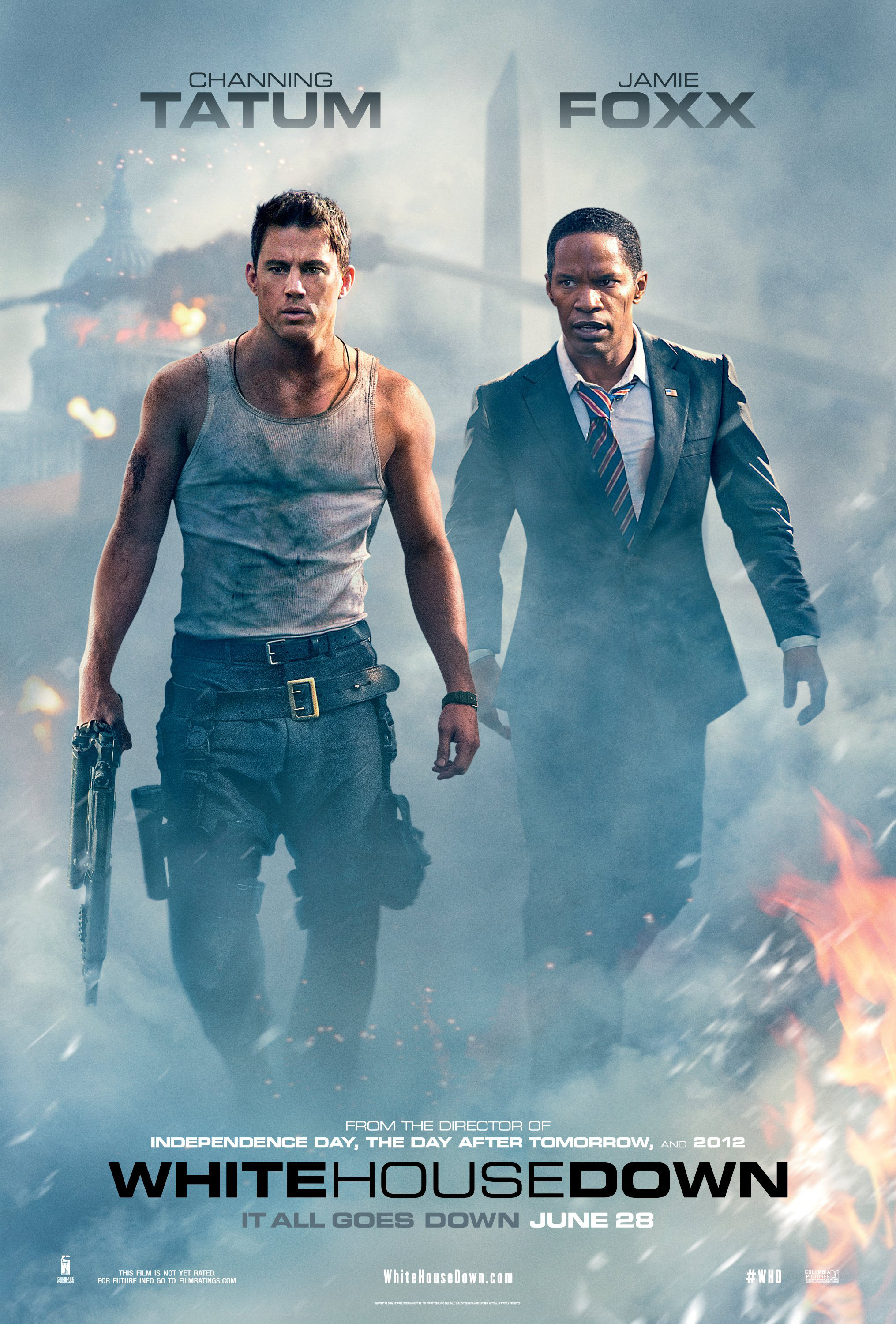 Olympus Has Fallen White House On Fire [Movie Review] White H...